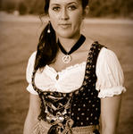 Dirndl Shooting Josi 0794